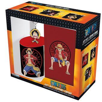 Taza + Llavero + Libreta One Piece Pack