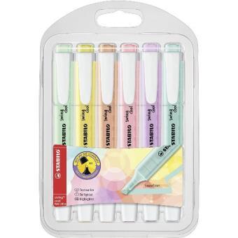 Marcador fluorescente Stabilo Swing Cool pastel