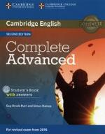 Complete Advanced Student's Book with Answers with CD-ROM 2nd Edition CAE