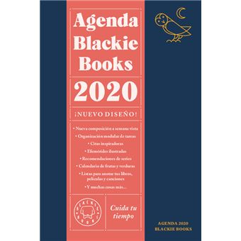 Agenda Blakie Books 2020 Semana Vista - Cuida tu tiempo