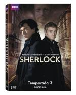 Sherlock - Temporada 3 - DVD
