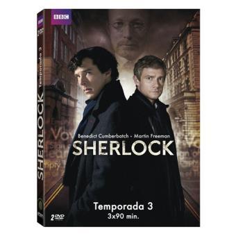 Sherlock  Temporada 3 - DVD