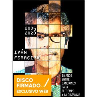 Box Set 2005-2020 15 años entre canciones para el tiempo y la distancia - 5 CDs - Disco firmado
