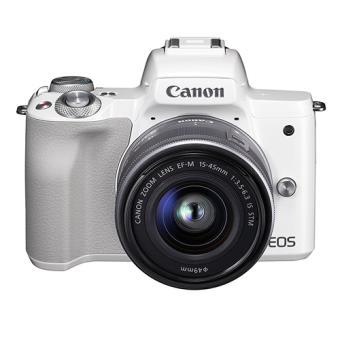 Cámara EVIL Canon EOS M50 Blanco + 15-45 mm