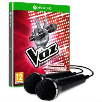 La Voz: Quiero tu Voz + 2 Microfonos Xbox One
