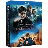 Pack J. K. Rowling: Harry Potter La saga completa + Animales fantásticos y dónde encontrarlos - Blu-Ray
