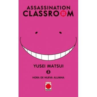 Assassination classroom 3 Hora de nueva alumna