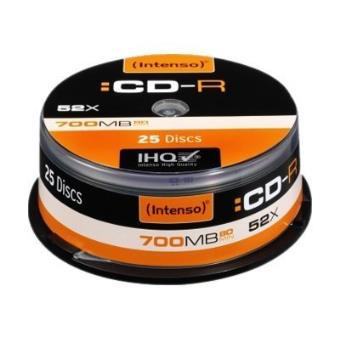 Intenso Pack 25 CD-R 700MB