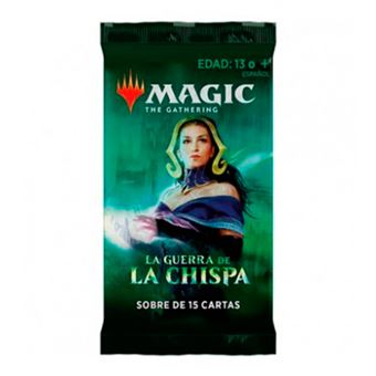 Magic The Gathering - La guerra de la chispa - Sobre de 15 cartas