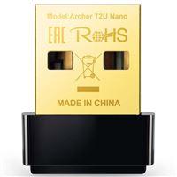 Adaptador inalámbrico Tp-Link Archer T2U Nano USB AC600