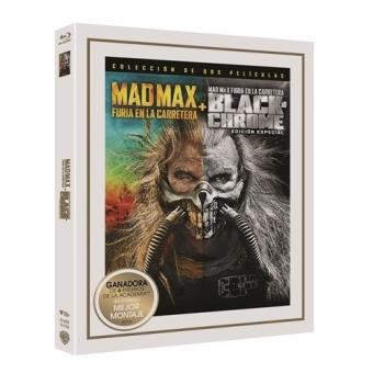 Mad Max. Furia en la carretera Ed. Black Chrome - Blu-Ray