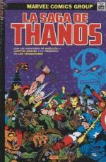 La saga de Thanos. Marvel Gold