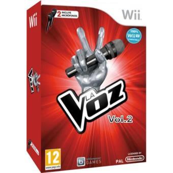 La Voz Vol. 2 + Micrófonos Wii