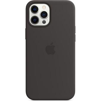 Funda de silicona con MagSafe Apple Negro para iPhone 12 Pro Max
