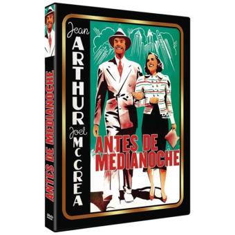 Antes de medianoche - DVD