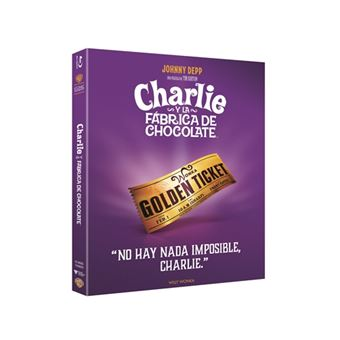 Charlie y la fábrica de chocolate  Ed Iconic - Blu-Ray