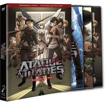 Ataque a Los Titanes - Temporada 3 Episodios 38 a 49 - DVD