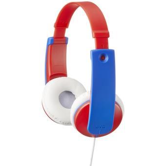 Auriculares infantiles JVC HA-KD7 Tinyphones Rojo/Azul