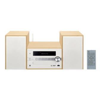 Microcadena Bluetooth Wi-Fi Pioneer X-CM66D Blanco