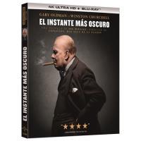 El instante más oscuro - UHD + Blu-Ray