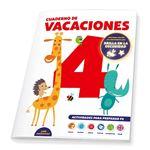 Cuaderno de vacaciones - 4 años - poster luminiscente