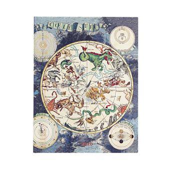 Agenda ultra 2020 Paperblanks semana vista Planisferio celeste tapa dura