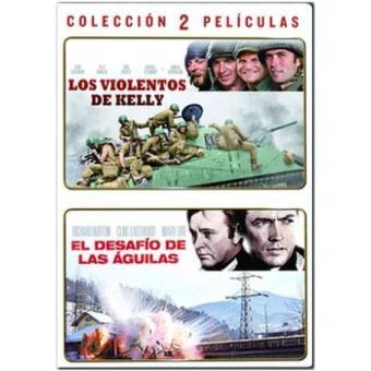 Pack Los violentos de Kelly + El desafío de las águilas - DVD