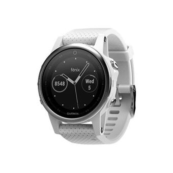 Smartwatch Garmin Fenix 5S Plata/Blanco (Producto Reacondicionado)