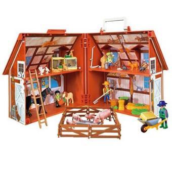 Playmobil granja malet n sinopsis y precio fnac for La granja de playmobil precio