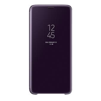 Funda Samsung Clear View Stand Púrpura para Samsung S9+