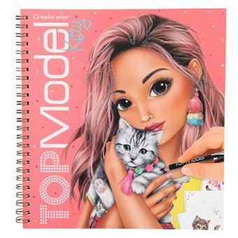 Cuaderno TopModel - Crea tu gatito
