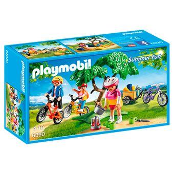 Playmobil Paseo en bicicleta de montaña