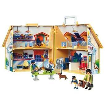Playmobil clinica veterinaria maletin sinopsis y precio for Casa maletin playmobil