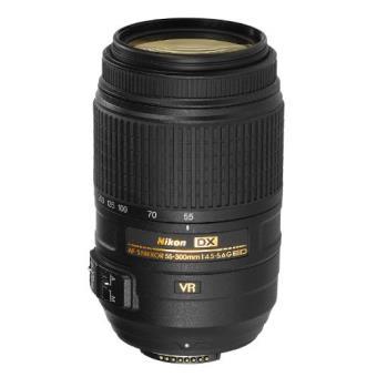 Nikon AF-S DX NIKKOR 55-300mm f/4.5-5.6G ED VR Objetivo