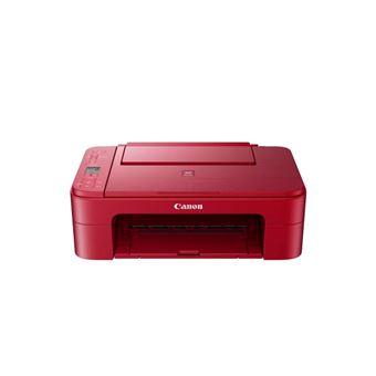 Impresora multifunción Canon Pixma TS3352 Rojo