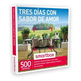 Caja Regalo Smartbox - Tres días sabor amor