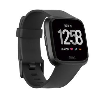 Smartwatch Fitbit Versa Negro/Aluminio Negro - Talla única