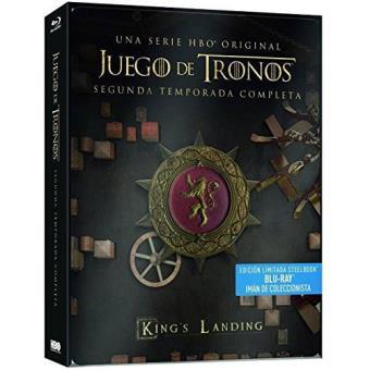Juego de TronosJuego de tronos - Temporada 2 - Steelbook Blu-Ray