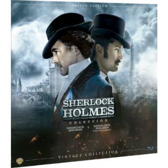 Pack Sherlock Holmes  Ed Limitada Vinilo - Blu-Ray