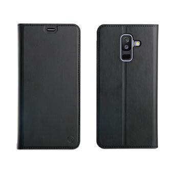 Funda Muvit Folio Negro para Samsung Galaxy A6 Plus