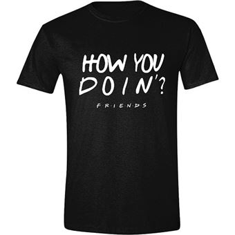 Camiseta Ffriends - How you doin'? Negro Talla S