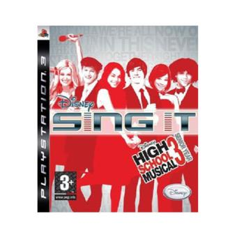 Sing it: High School Musical PS3