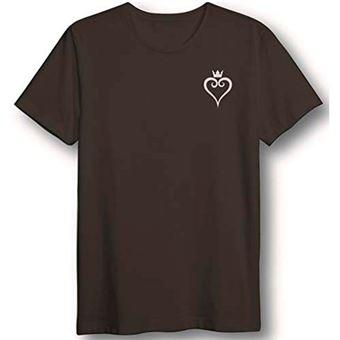 Camiseta Kingdom Hearts - Corazón - Negro Talla XL