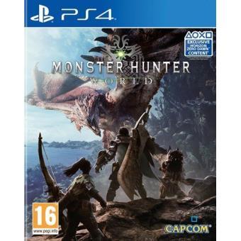 Monster Hunter World Ps4 Para Los Mejores Videojuegos Fnac