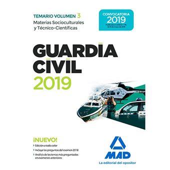 Guardia Civil - Materias Socioculturales y Técnico-Científicas - Temario - Volumen 3