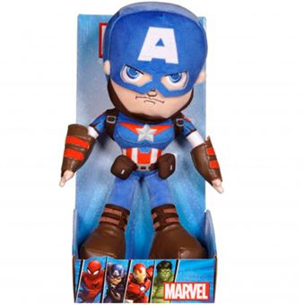 Peluche Marvel Action Capitán América 25 cm
