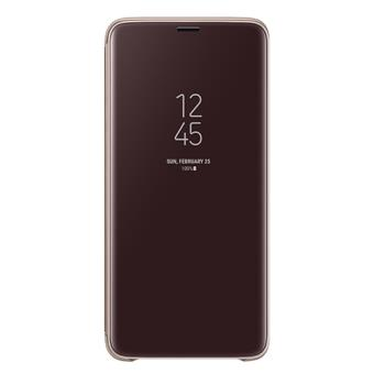 Funda Samsung Clear View Stand Oro para Samsung S9+