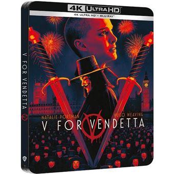 V De Vendetta - Steelbook UHD + Blu-ray