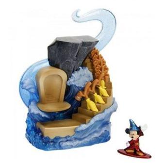 Figura Disney Mickey Mouse - Diorama El aprendiz de brujo