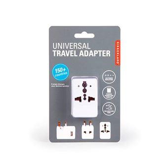 Adaptador universal de viaje Kikkerland con USB